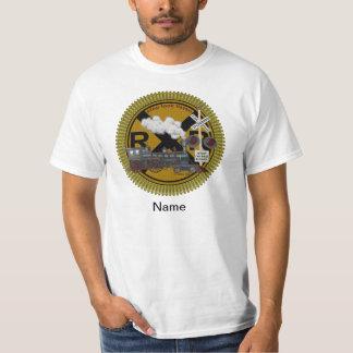 Old Train mens basic t-shirt