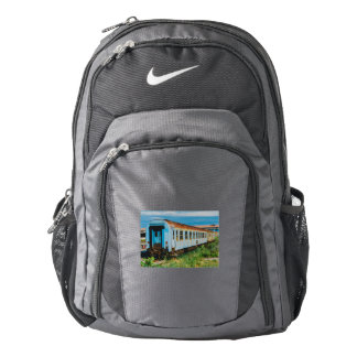 Old train nike backpack