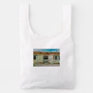 Old train reusable bag