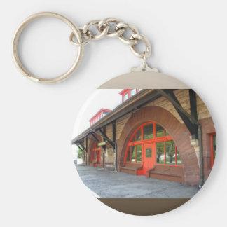 Old Train Station ~ keychain
