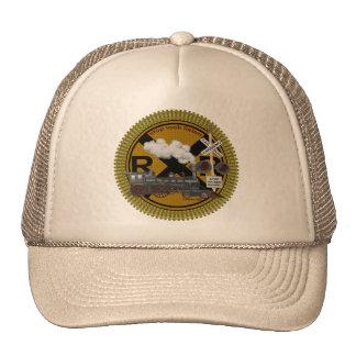 Old Train Trucker Hat