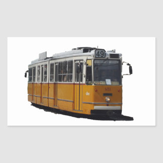 Old Tram Sticker