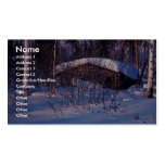 Old Trapper's Cabin Double-Sided Standard Business Cards (Pack Of 100)