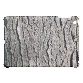 Old tree bark vertical texture iPad mini cases