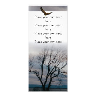 Old tree book mark you Customize Rack Card Template