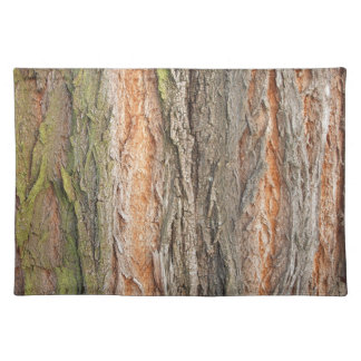 old tree cloth placemat