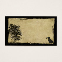 Old Tree, Crow & Star- Prim Biz Cards