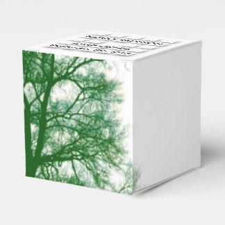 Old Tree Modern Design Family Reunion Favor Box