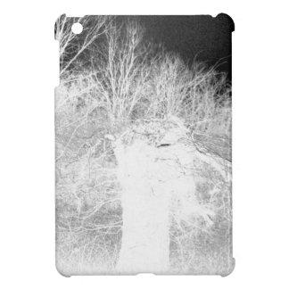 Old Tree - negative iPad Mini Cases