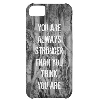 Old Tree Roots Mottos iPhone 5 Case