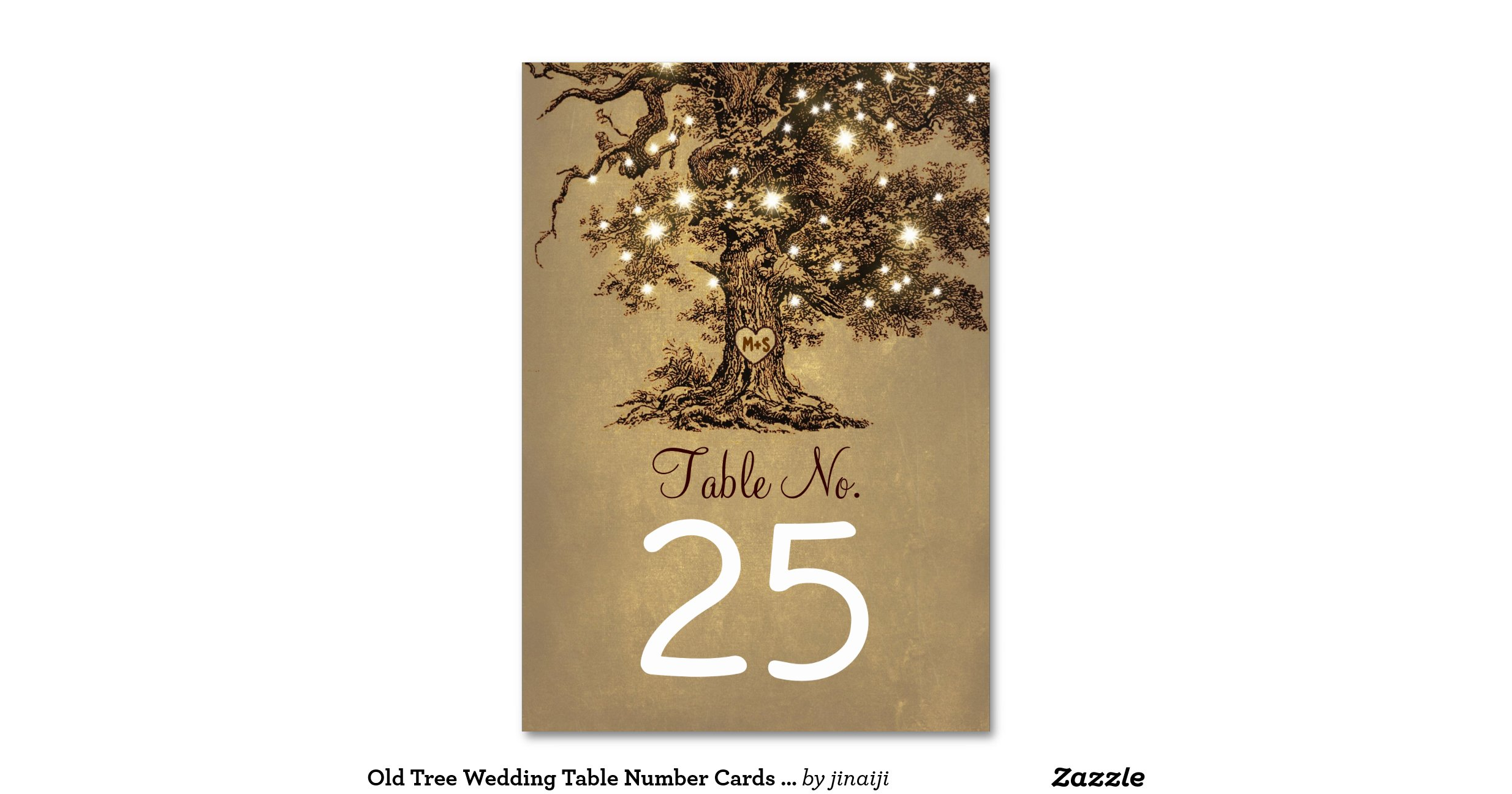 Old Tree Wedding Table Number Cards Place Cards Table Card R34d8871488134f1797885b58e60b5d60