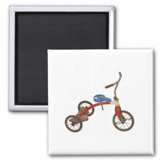 Old Tricycle Refrigerator Magnet