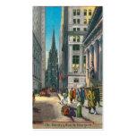 Old Trinity & Wall Street, New York Business Card