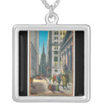Old Trinity & Wall Street, New York Necklace