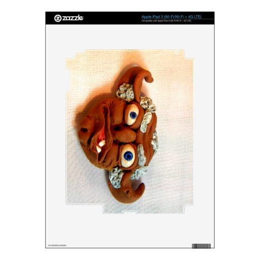 Old Troll I iPad 3 Decal