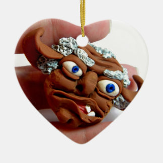 Old Troll II Ceramic Ornament