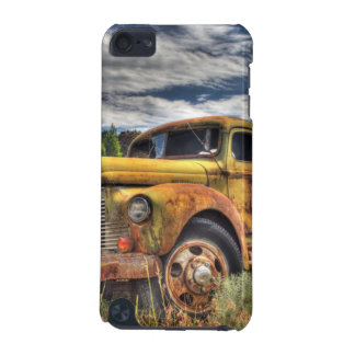 Old truck abandoned in field iPod touch (5th generation) cover