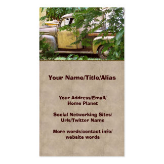 Old Truck Double-Sided Standard Business Cards (Pack Of 100)