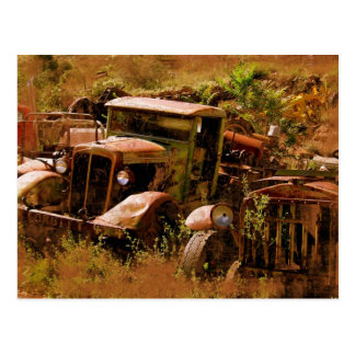 Old Truck, Ghost Town near Jerome, Arizona Postcard