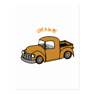 OLD TRUCK - LOVE TO BE ME POST CARDS