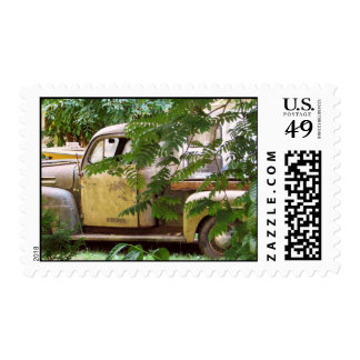 Old Truck Postage Stamp