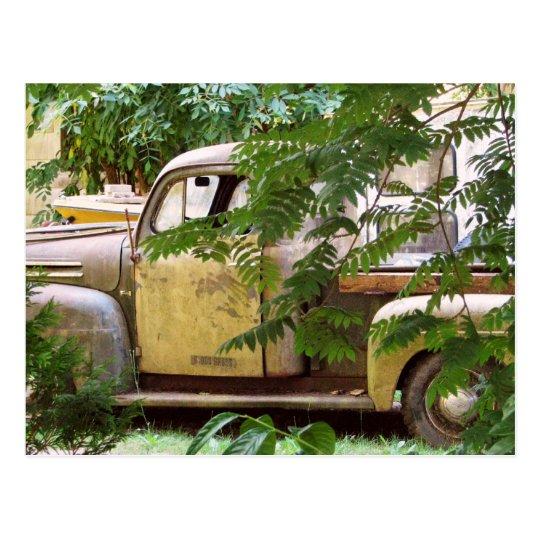 Old Truck Postcard