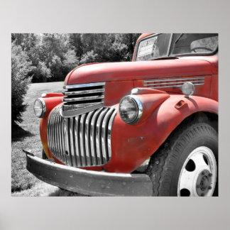 Old Truck Print