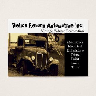 Old Truck  Repair Shop Business Card