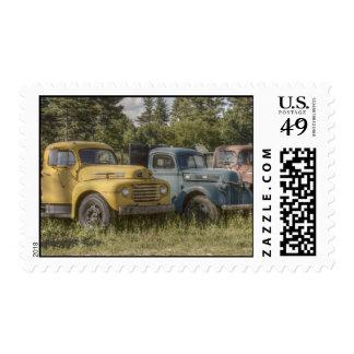 Old Trucks Stamp