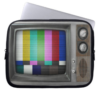 Old TV Laptop Sleeve