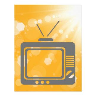 old tv letterhead