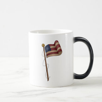Old Tyme Flag Magic Mug