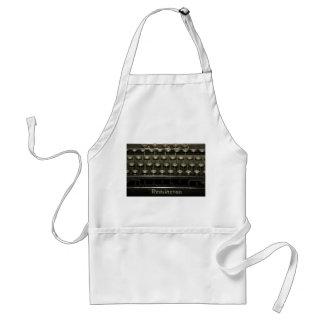 Old Typewriter Adult Apron