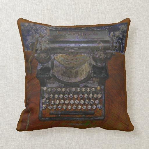 Old Typewriter American MoJo Pillow
