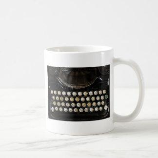old typewriter coffee mug