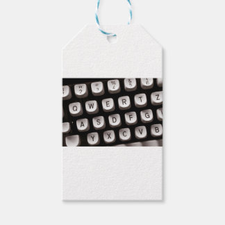 Old Typewriter Gift Tags