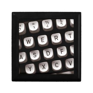 Old Typewriter Jewelry Box
