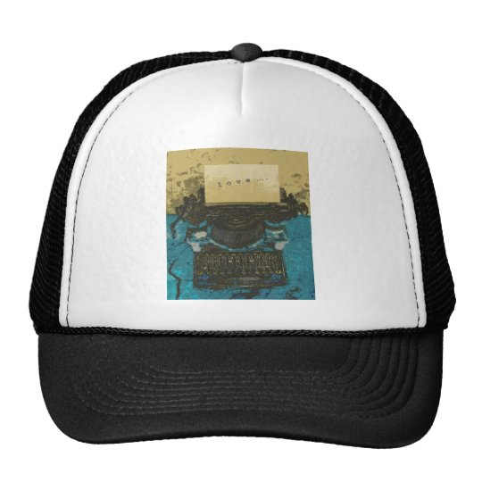 Old Typewriter Love... Trucker Hat