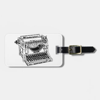 Old Typewriter Luggage Tags