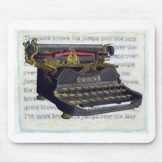 Old Typewriter Mouse Pads
