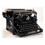 Old Typewriter Postcards