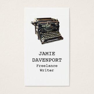 Old Typewriter Writer Journalist Author Business Business Card