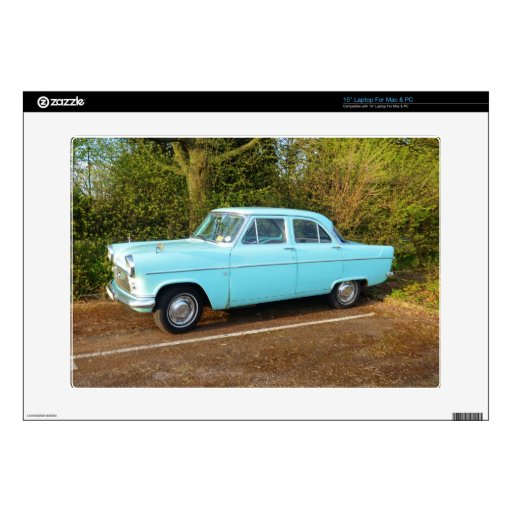 """Old UK Ford Consul 15"""" Laptop Skins"""