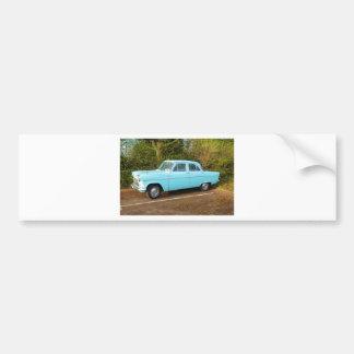 Old UK Ford Consul Car Bumper Sticker