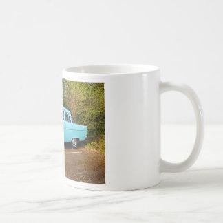 Old UK Ford Consul Classic White Coffee Mug