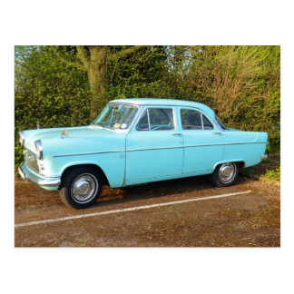 Old UK Ford Consul Postcard