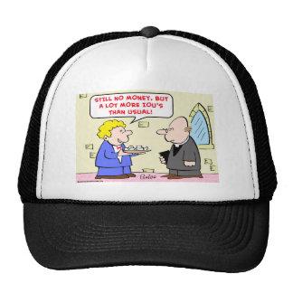 old uniform still fits prisoner trucker hat