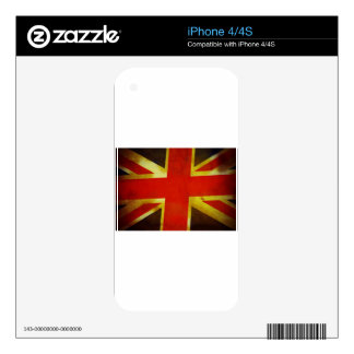 Old Union Jack Flag Skins For The iPhone 4S