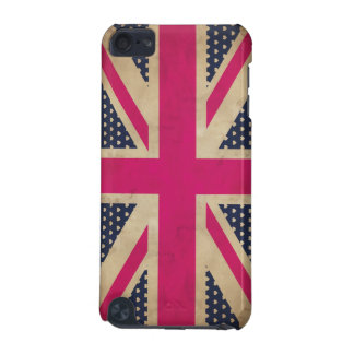 Old Union Jack in Pink Flag iPod Touch Case