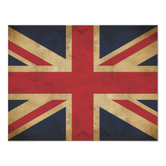 Old Union Jack Invitation